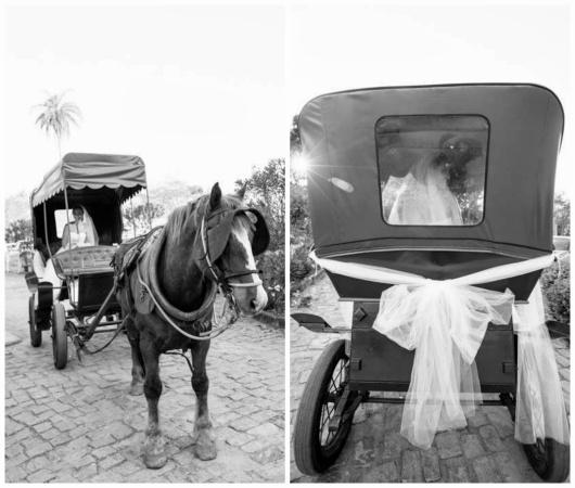 transporte noiva - carro da noiva - carro dos noivos - entrada noiva - carruagem - charrete - noiva - casamento de dia